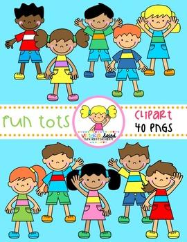 Fun Tots {Kids Clipart}