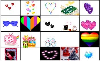Fun Valentine Interactive Clip Art