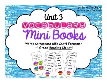Fun Vocabulary Mini Books {Scott Foresman Reading Street ~