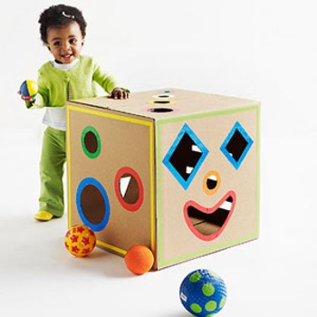 Fun Ways To Reuse Your Cardboard Boxes