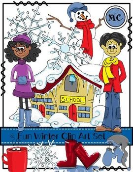 Fun Winter Clip Art Set