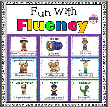 Reading Fluency Activity - Fun With Fluency Silly Reading