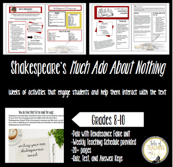Fun With Shakespeare-Much Ado About Nothing