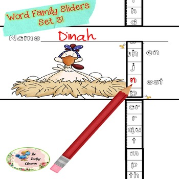 Word Families - Activities - Common Core Set 3