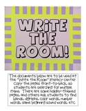 "Fun ""Write the Room"" Pages"