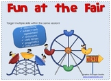 Fun at the Fair--Speech and Language Activities for a Carn