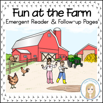 Fun at the Farm Emergent Reader with Vocabulary & Sentence
