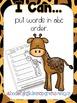 Fun at the Zoo {Writing & Word Work}