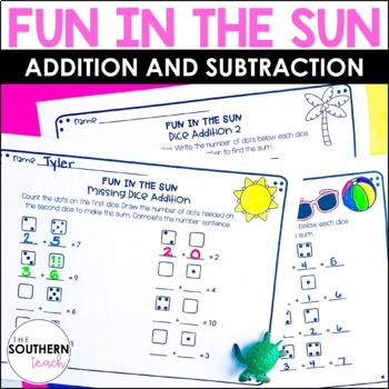 Fun in the Sea Addition and Subtraction