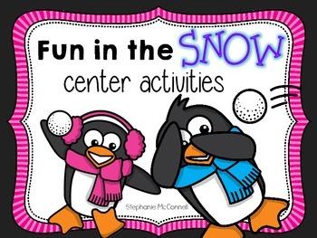 Fun in the Snow- Winter Center Activities