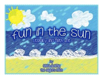 Fun in the Sun Literacy and Math