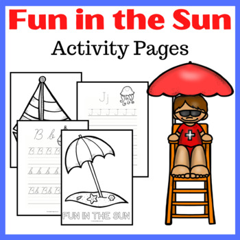 Fun in the Sun Summer Activity Pack