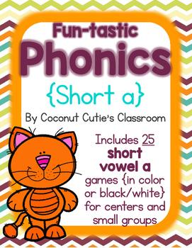 Fun-tastic Phonics {Short a}
