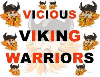 FREE - Tongue Twister - Viking Warriors