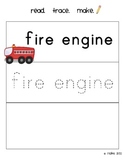 Fun with Fire Safety - Kindergarten Math and Literacy Unit