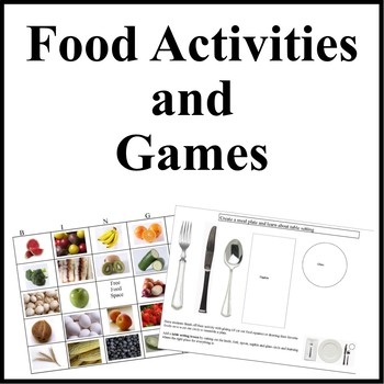 Kids Cooking-Fun with Food Game and Activities