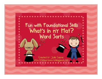 Fun with Foundational Skills:  Magic Word Sort