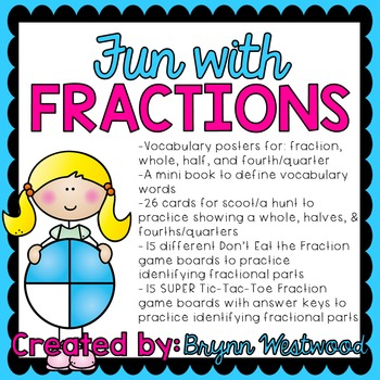 Fun with Fractions Activities to show & identify one whole