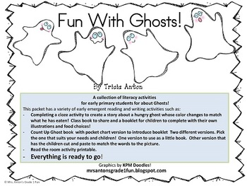 Fun with Ghosts