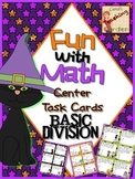 Fun with Math Basic Division Math Task Cards Halloween Com