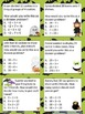Fun with Math Basic Division Math Task Cards Halloween Com