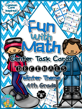 Fun with Math Center Task Cards Decimals Part One Common C