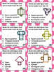Fun with Math Center Task Cards Solids and Nets Common Cor