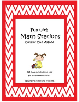 Fun with Common Core Math Stations