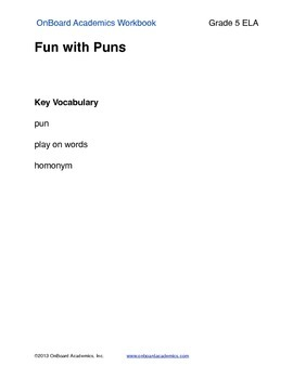 Fun with Puns
