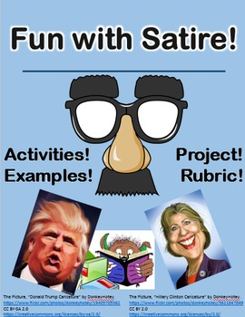 Fun with Satire -- Assignments and Final Creative Satire Project
