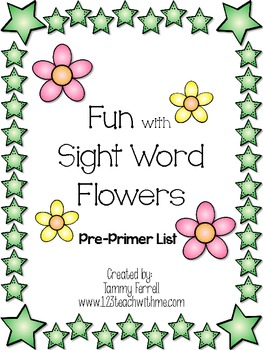 Fun with Sight Word Flowers