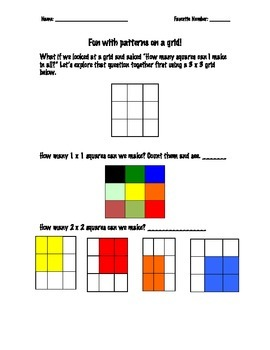 Fun with Squares on a Grid