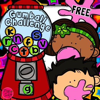 Fun with Words FREEBIE - Gumball Challenge