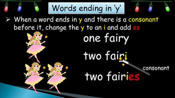 FunSeasonal Educational Resources - Plurals, Alphabetical