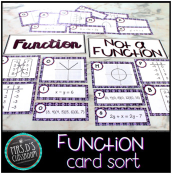 Function Card Sort