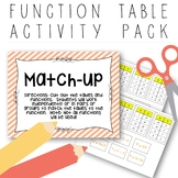 Function Table/ Input-Output Table Activity Pack