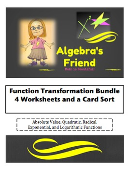 Function Transformations Bundle