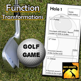Function Transformations - Golf Game