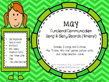 Functional Communication Song & Story Boards - May