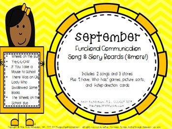 Functional Communication Song & Story Boards - September