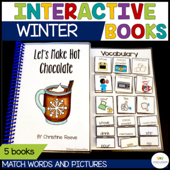 Functional Interactive Adapted Books*Winter*Autism*Special