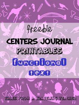 Center Journals: Functional Text