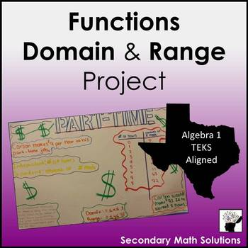 Functions, Domain & Range Project