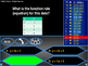 Functions Review: Who wants to Be a Millionaire