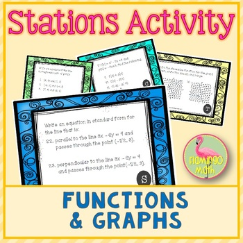 Functions and Graphs Stations Activity