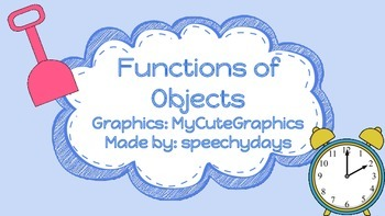 Functions of Objects