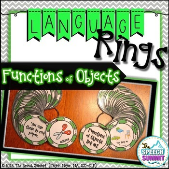 Functions of Objects Language Rings