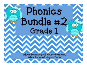 Grade 1 Phonics Bundle #2