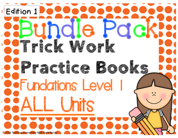 13 Trick/Sight Word Practice Books: EDITION 1