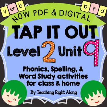 Tap It Out Level 2 Unit 9 (R-Controlled Vowels er, ir, ur)